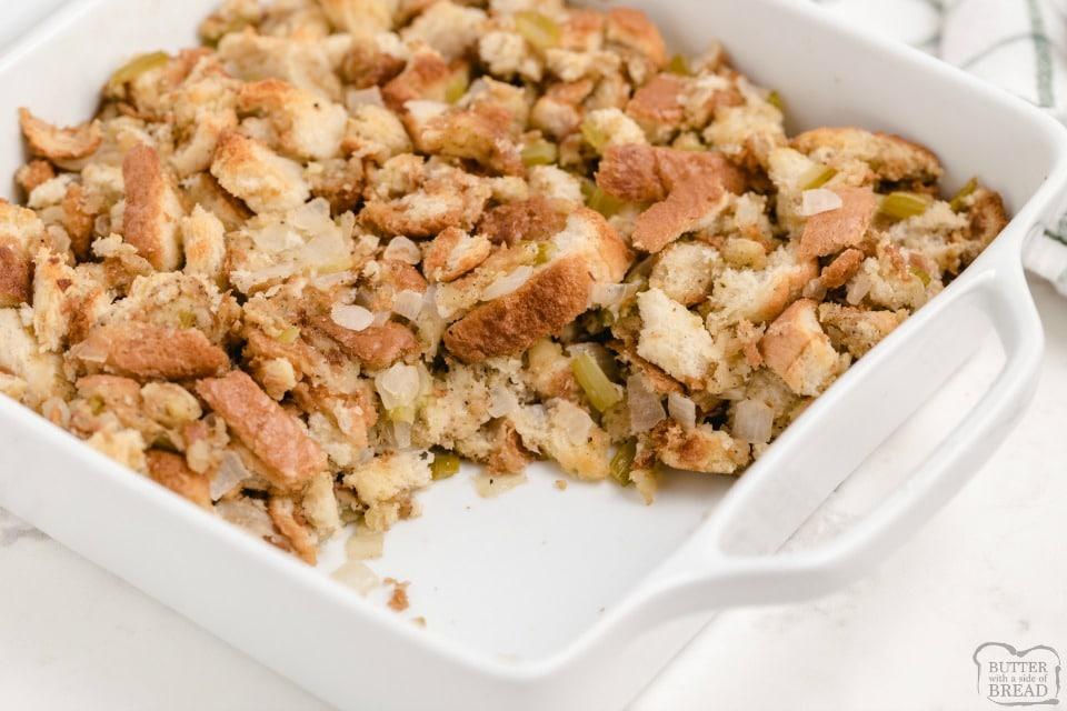 Best Thanksgiving Stuffing recipe