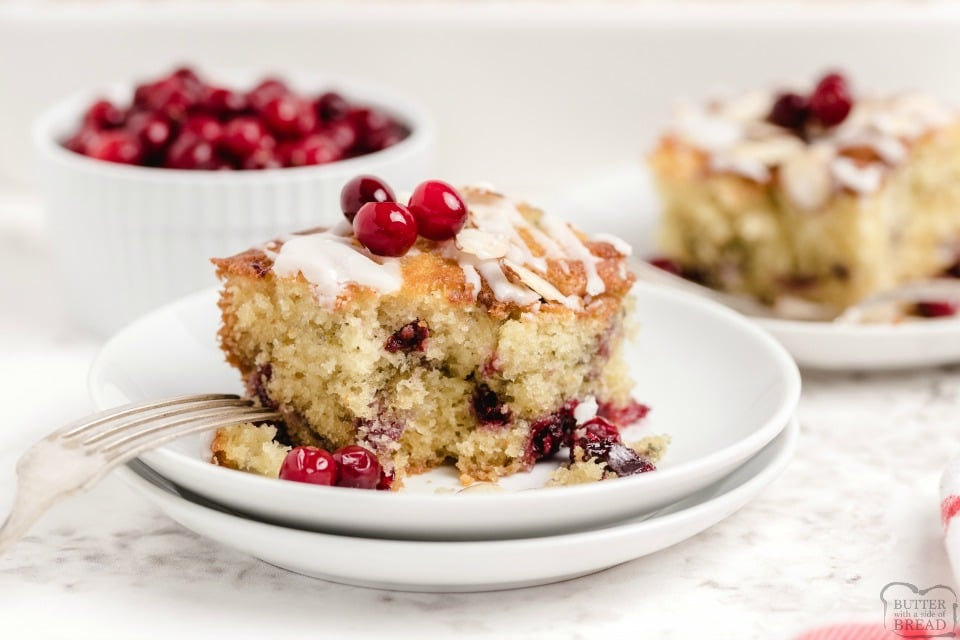 Spiced Cranberry Coffee Cake Recipe