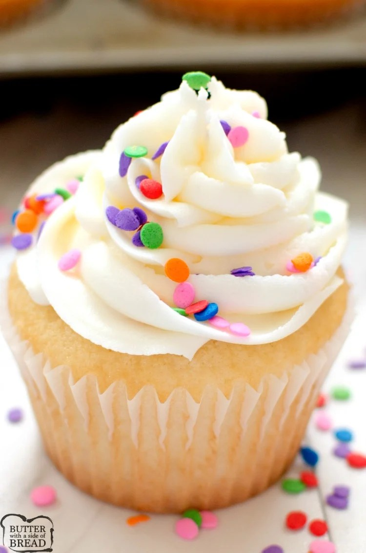 2f24cb28831 Our family has enjoyed this recipe for Marshmallow Buttercream Frosting for  years and years! It has a light