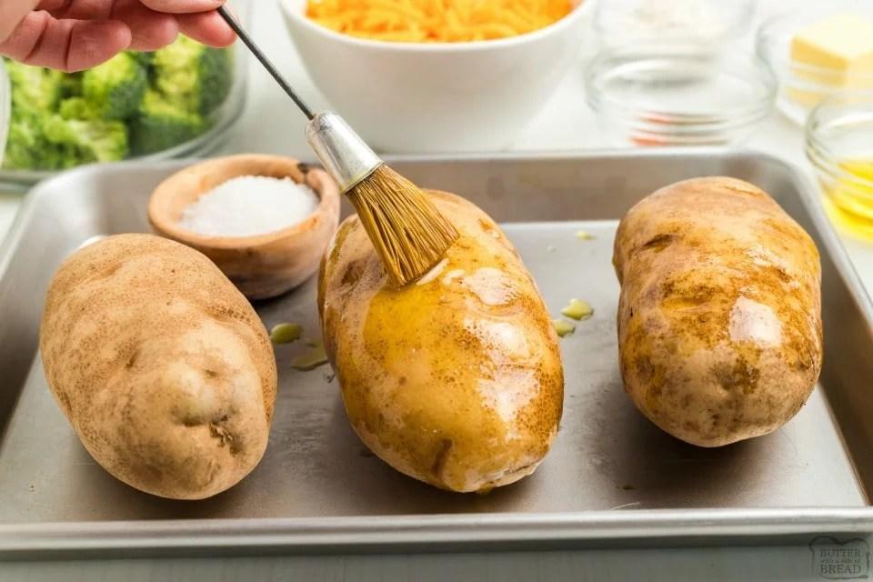 best way to bake potatoes