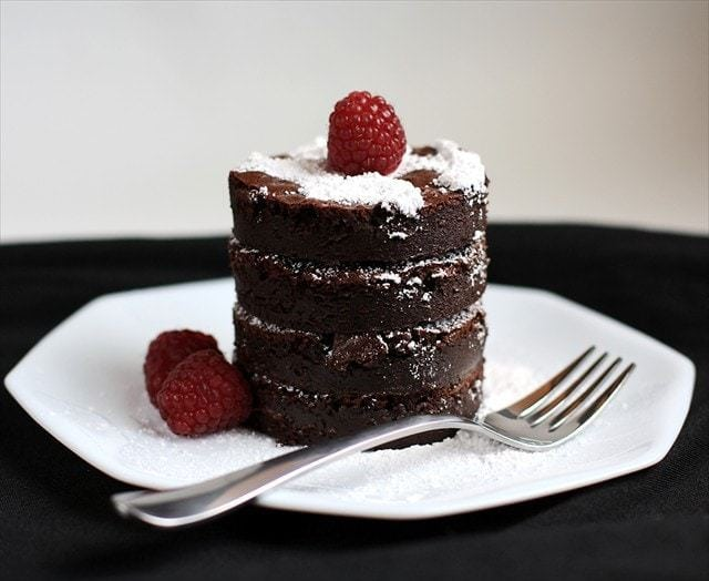 Flourless Chocolate Fudge Truffle Cake: Butter with a Side of Bread