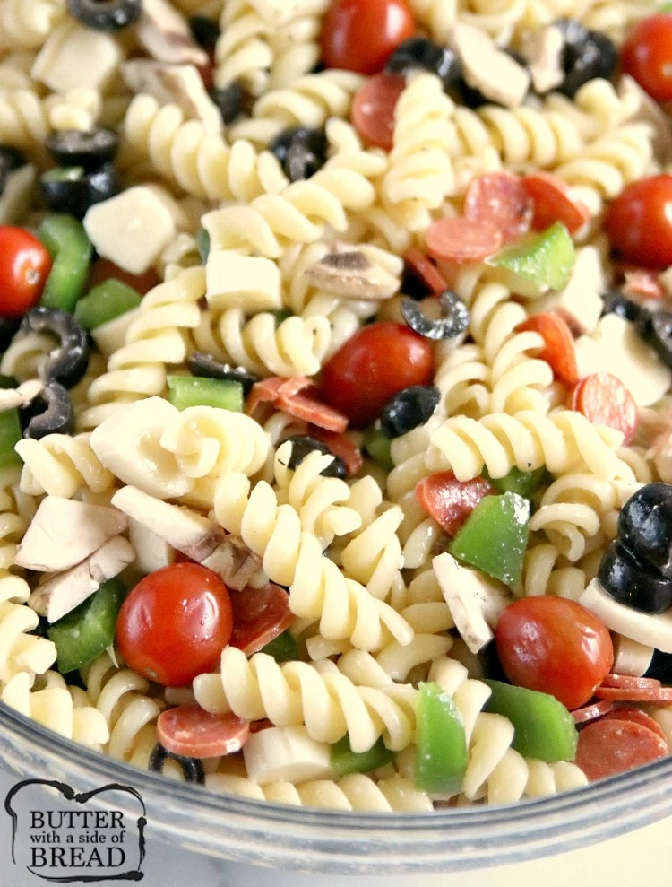 How many ounces is a serving of pasta salad