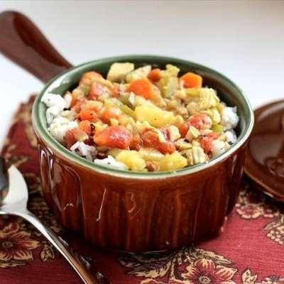 MULLIGATAWNY: Sweet Chicken & Vegetable Curry Stew