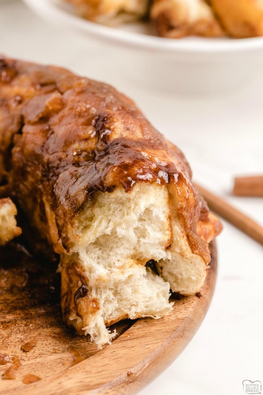 Monkey Bread breakfast sweet rolls