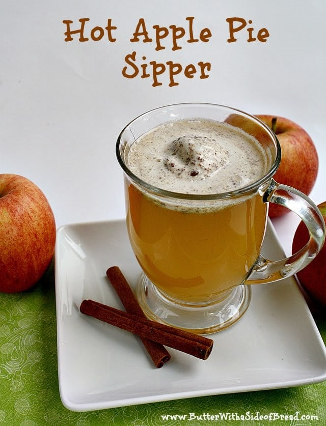 If you are looking for a way to literally spice up your apple cider, this is the perfect recipe! I found this recipe in my Taste of Home Holiday cookbook and am so glad I finally tried it! Add some spices to vanilla ice cream and then add it to your apple cider and your drink will taste like apple pie in a mug....soooo yummy!