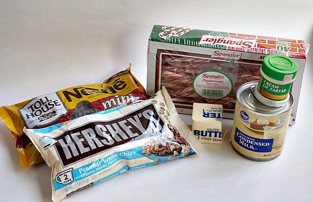 Candy Cane Fudge Butter With A Side Of Bread