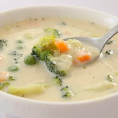 CREAMY VEGETABLE SOUP