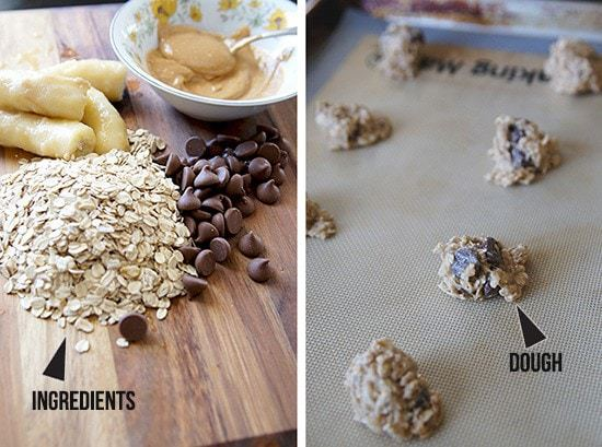 butter with a side of bread, 4 ingredient vegan chocolate chip cookies
