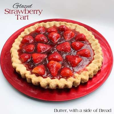 GLAZED STRAWBERRY TART