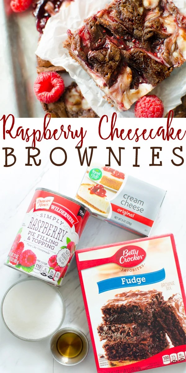 Raspberry Cheesecake Brownies are a rich and decedent treat that everyone will love. Made with either a boxed mix or a from scratch brownie, the addition of raspberry pie filling and cheesecake swirl take these brownies up a notch! #browniemix #boxedbrowniemix #doctoredup #cheesecakebrownies #raspberrycheesecake #recipe #easy BUTTER WITH A SIDE OF BREAD