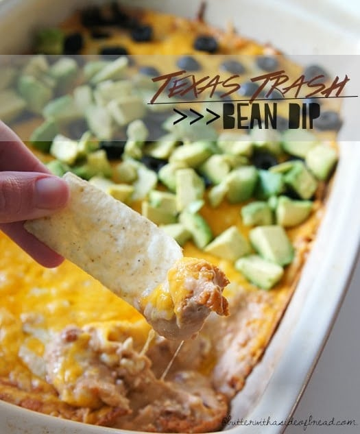 My hubs is a huge fan of bean dip. No holiday/party/get-together is complete without said dip, but lazy me always forgets ingredients. This recipe is my fool-proof, go-to version! It's forgiving and incredibly tasty. With just a handful ingredients I usually have in my fridge and pantry (plus chips. But let's be honest. I always have chips), it's so fast & easy to whip up!