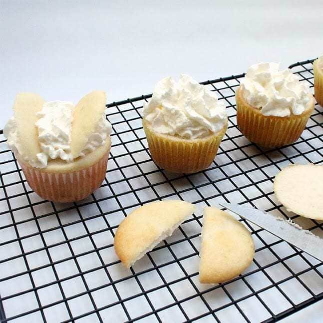 Butterfly Cupcakes:Butter With a side of Bread