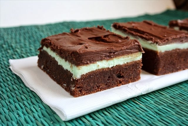 THE BEST MINT BROWNIES: Butter With A Side of Bread