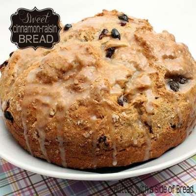 SWEET CINNAMON-RAISIN QUICK BREAD