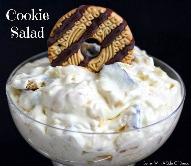 COOKIE SALAD: Butter With A Side of Bread