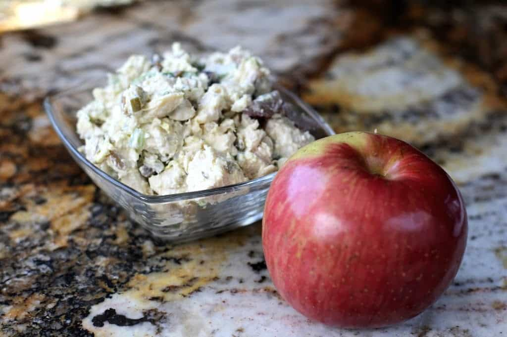 CHICKEN SALAD & APPLES: Butter With A Side of Bread