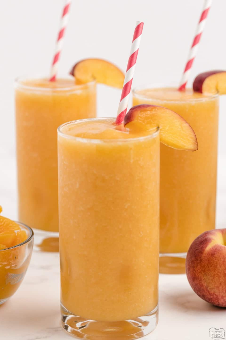 Peach Homemade Slurpee