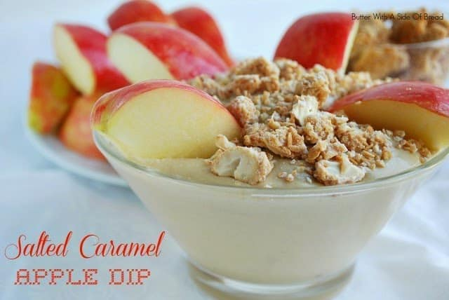SALTED CARAMEL APPLE DIP: Butter With A Side of Bread
