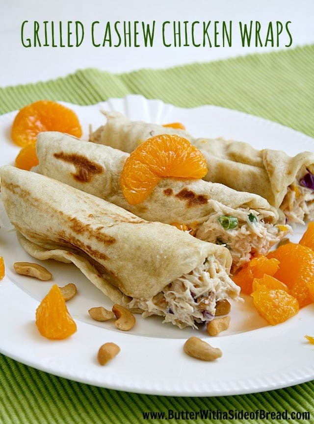 I was recently asked by Rhodes to make this recipe for Grilled Cashew Chicken Wraps. I had never even thought about using a grill to cook a Rhodes roll before, but it worked perfectly for making these delicious wraps! You can find the recipe here.