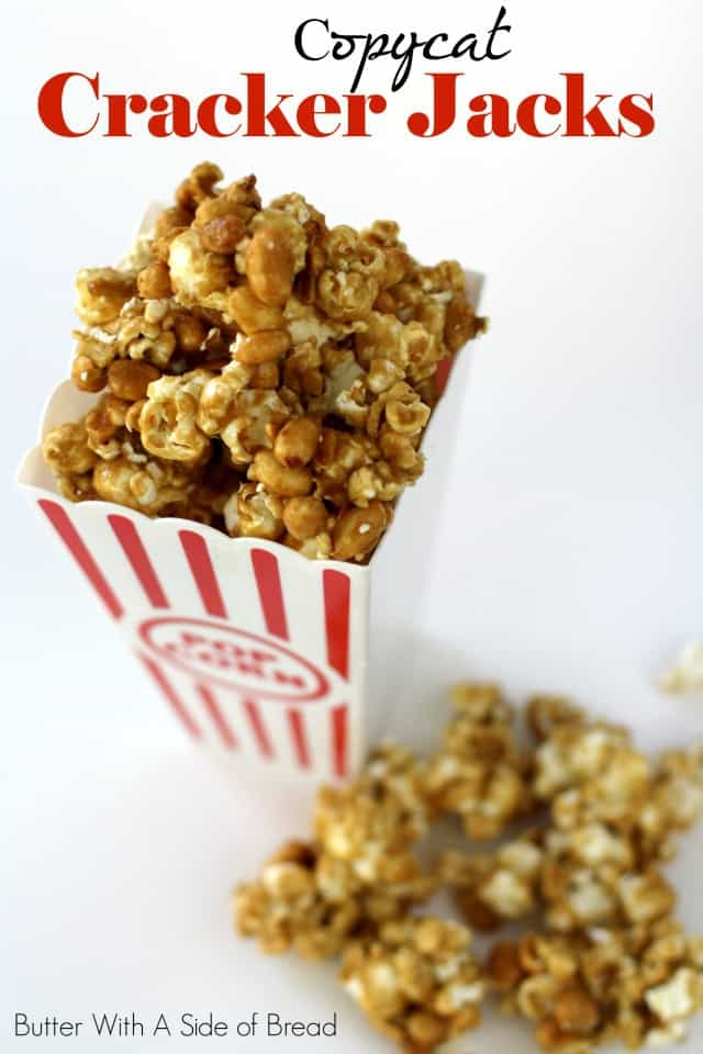 COPYCAT CRACKER JACKS: Butter With A Side of Bread