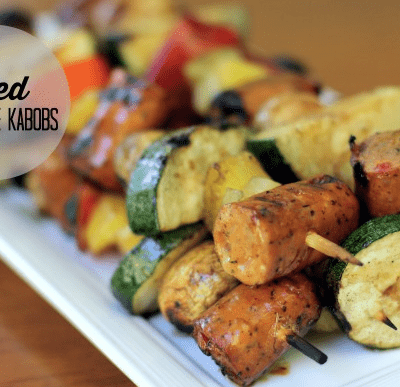GRILLED SAUSAGE KABOBS & ZAYCON FOODS