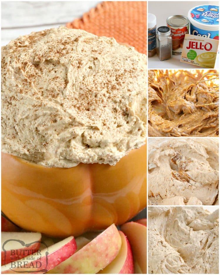 How to make pumpkin dip