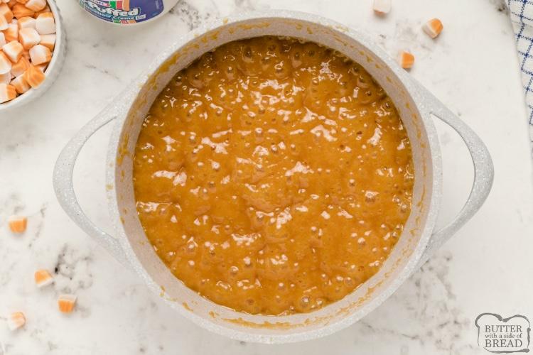 How to make pumpkin fudge recipe