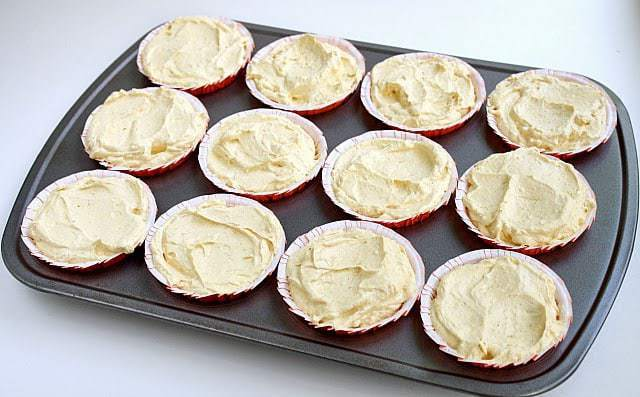 Butter With a Side of Bread: Mini No-Bake Pumpkin Cheesecakes