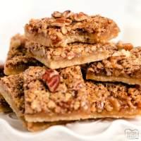 Best Pecan Pie Bars recipe