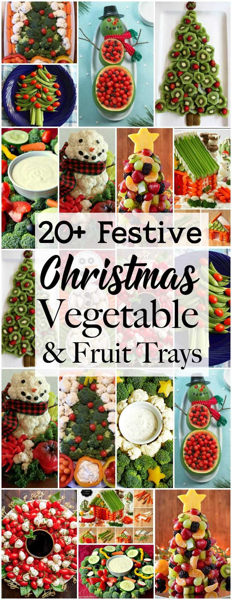 Christmas Veggie Tray.Festive Christmas Veggie Trays Platters Butter With A
