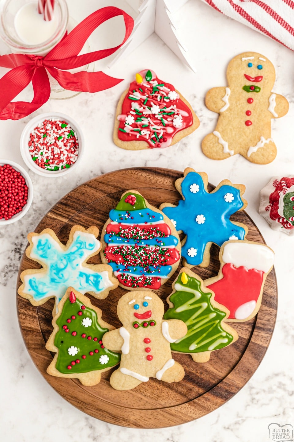Soft Christmas Sugar cookie recipe