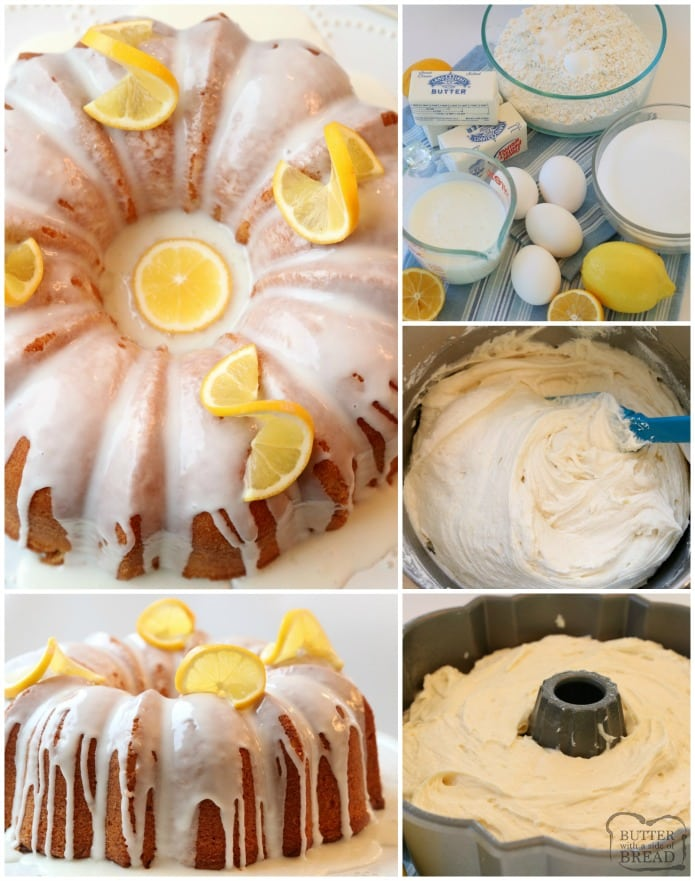 Easy, step by step instructions on how to make the best Buttermilk Lemon Pound Cake recipe.