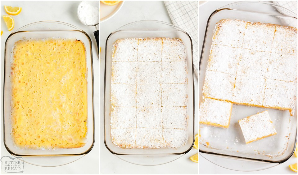 How to make Easy Lemon Bars recipe
