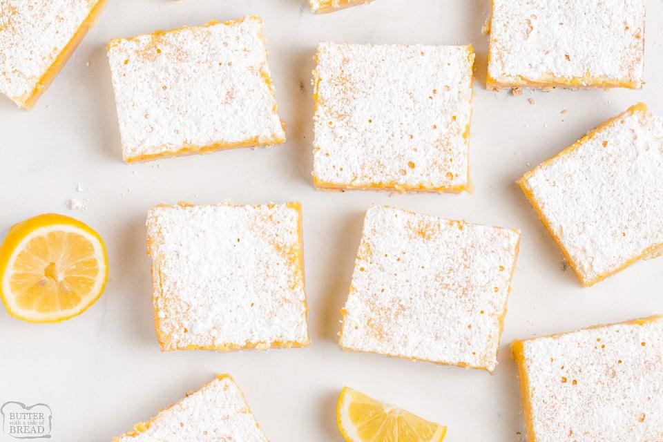 Best Easy 5 Ingredient Lemon Bars recipe