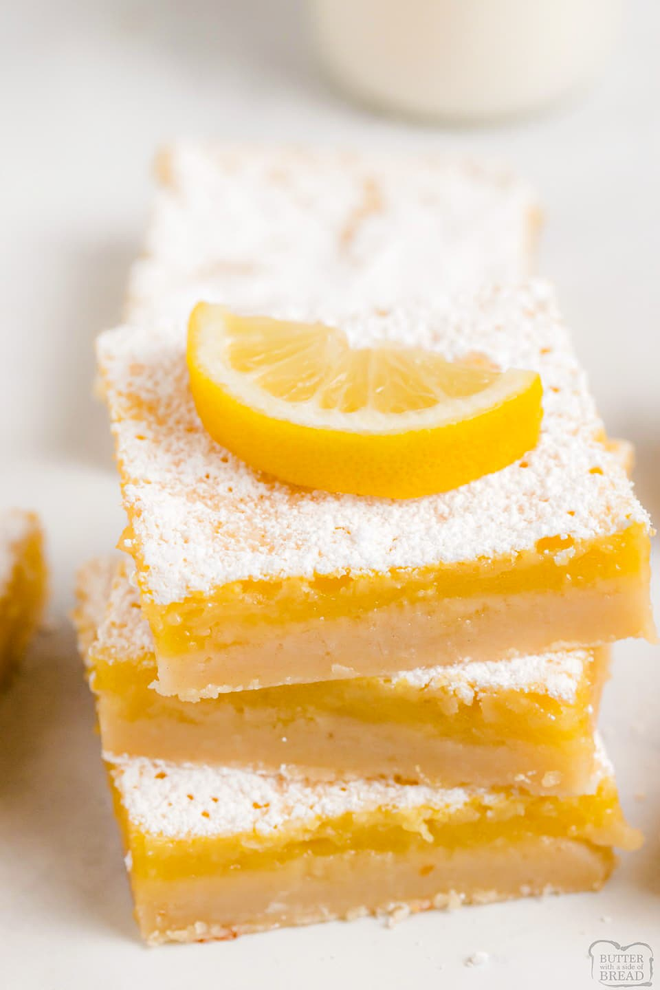 Best Easy 5 Ingredient Lemon Bars recipe