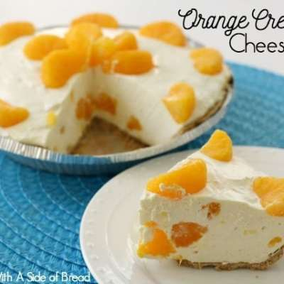 ORANGE CREAMSICLE CHEESECAKE