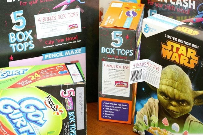 Box Tops Bonus Products.BSB