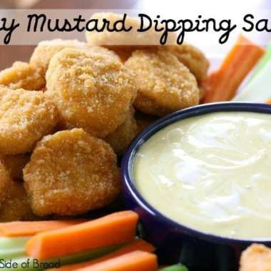 Honey Mustard Dipping Sauce - Butter With A Side of Bread