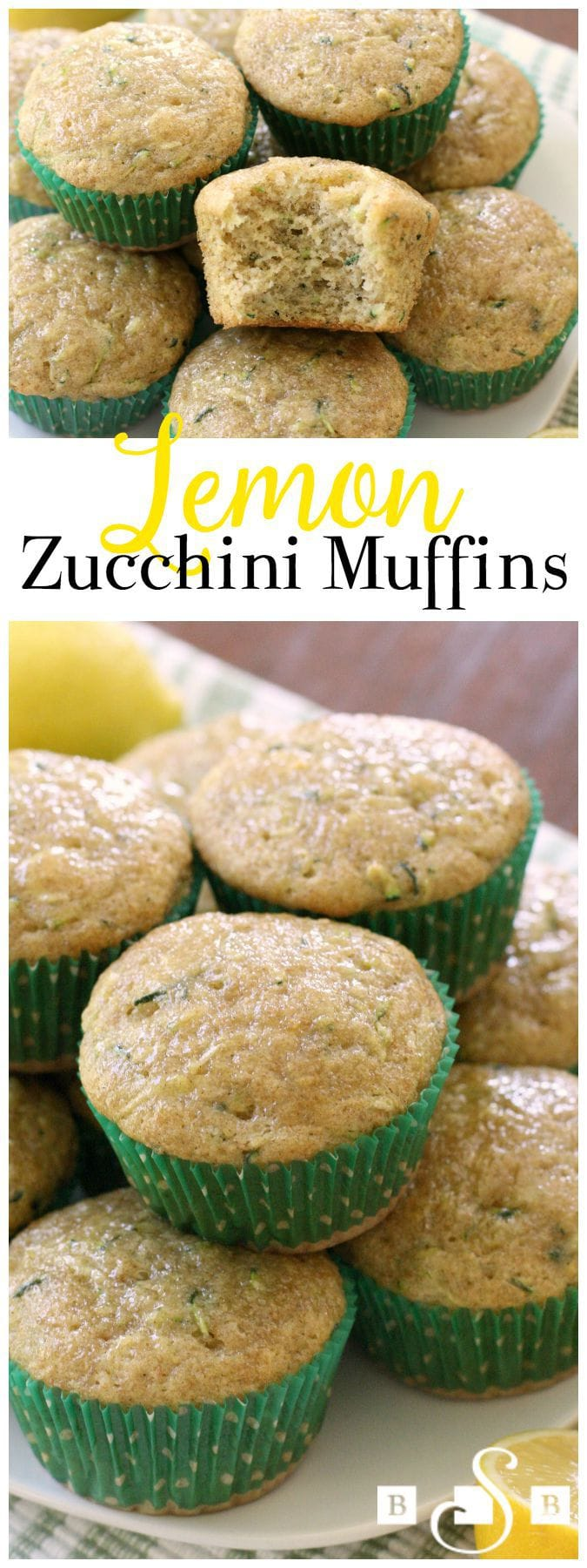 Lemon Zucchini Muffins are a favorite when the garden is bursting with fresh zucchini! More delicate than zucchini bread, you'll love the fresh, bright flavor of added lemon and cinnamon too.