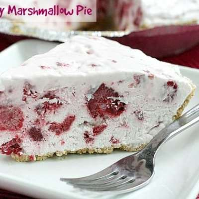 RASPBERRY MARSHMALLOW PIE