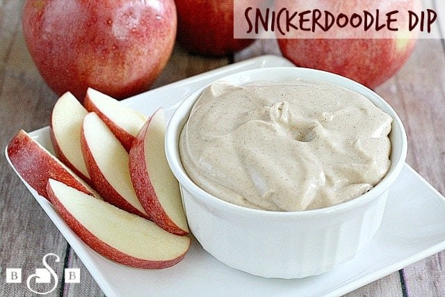 Snickerdoodle Dip - Butter With a Side of Bread