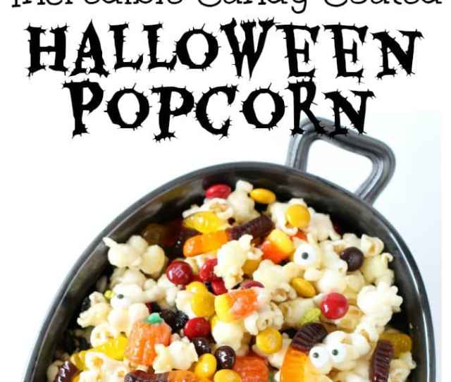 Halloween Popcorn Is The Perfect Snack For The Fall You Cant Go Wrong