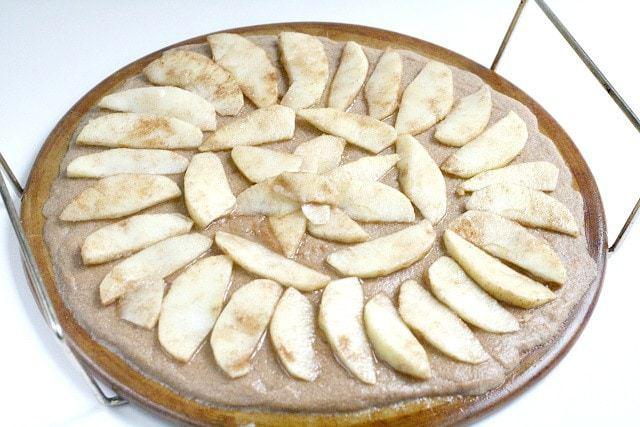 Pumpkin Apple Dessert Pizza - Butter With a Side of Bread