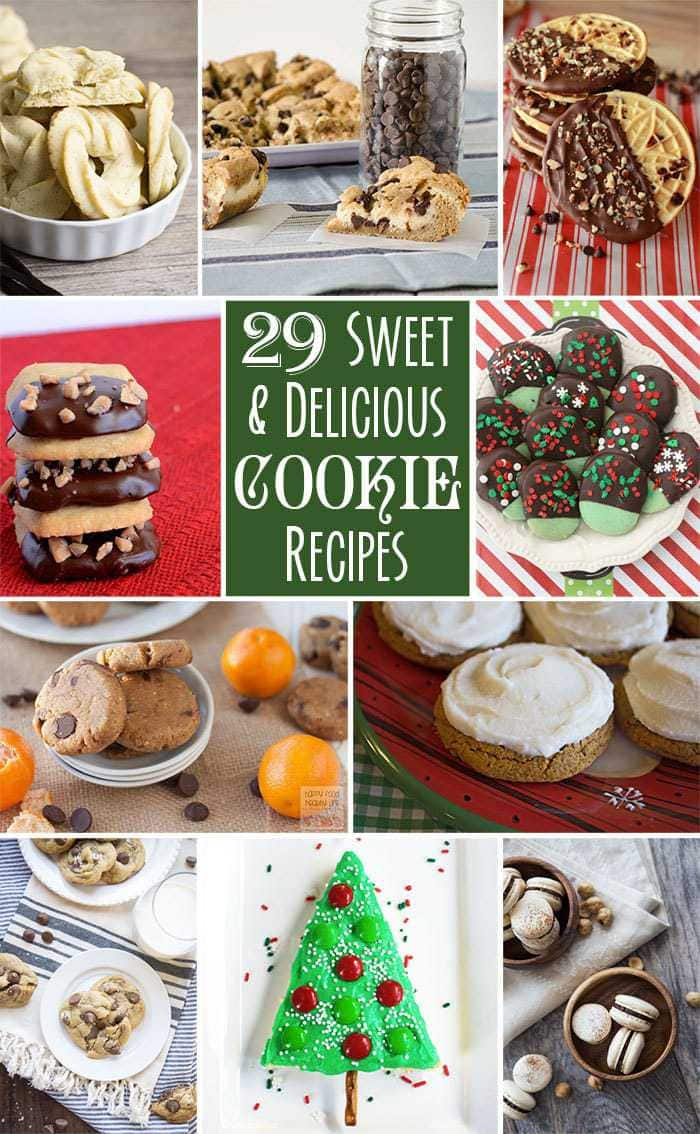 29 Sweet & Delicious Cookie Recipes- Butter With A Side of Bread