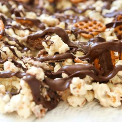 chocolate covered popcorn recipe