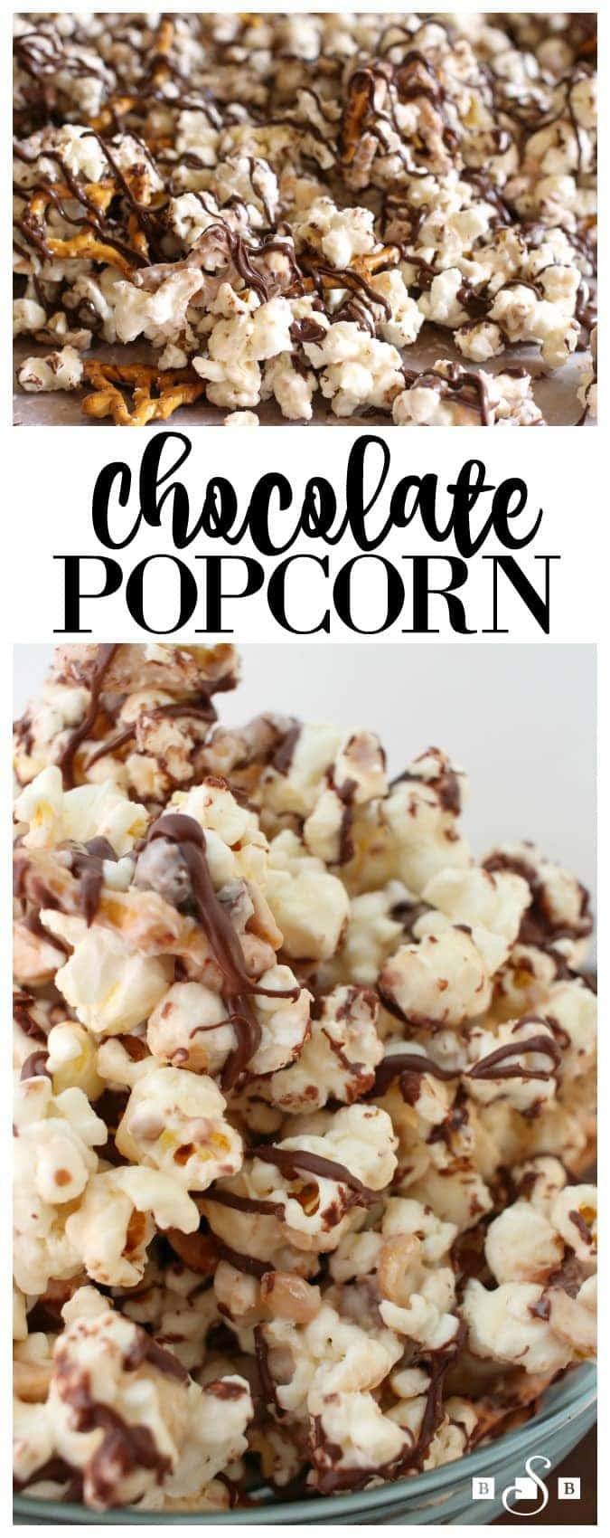 Chocolate Popcorn - Butter With A Side of Bread