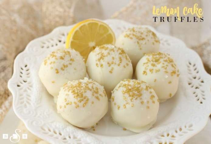 Lemon Cake Truffles from a mix are a win for everyone because they are easy to make and so delicious! You won't even mind needing to make more!