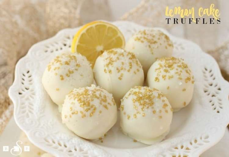 Lemon Cake Truffles - Butter With A Side of Bread
