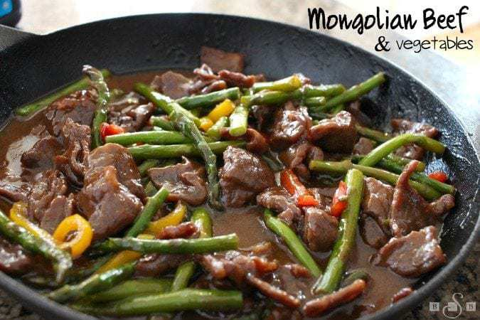 Easy Mongolian Beef & Vegetables - Butter With A Side of Bread