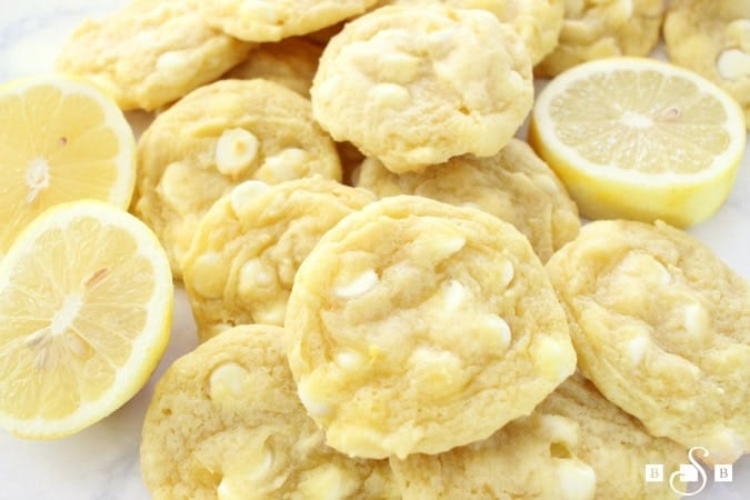 Lemon Pudding Cookies are soft, chewy and perfectly sweet - a definite family favorite! Added lemon zest brightens the flavors. They're so easy to make too!